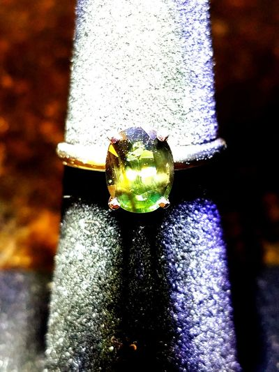 Green Australian Sapphire gold ring Gold Band Jewelry Fashion Luxury Green Sapphires No People Close-up Indoors  Day