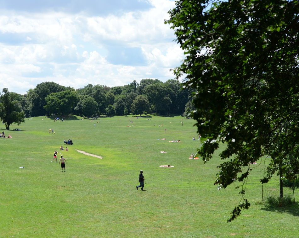 Beautiful stock photos of park, Cloud, Day, Large Group Of People, Leisure