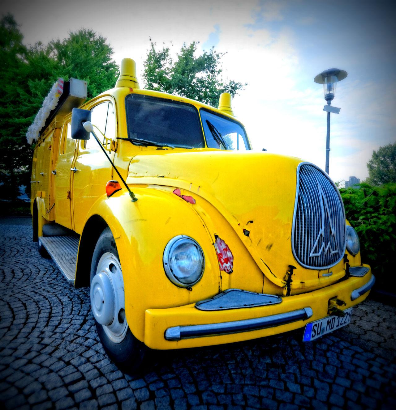 Car Magirus Deutz Old Car Old-fashioned Transportation Vehicle