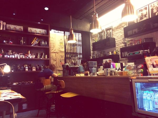Caffeine for now. My fav Coffee Shop
