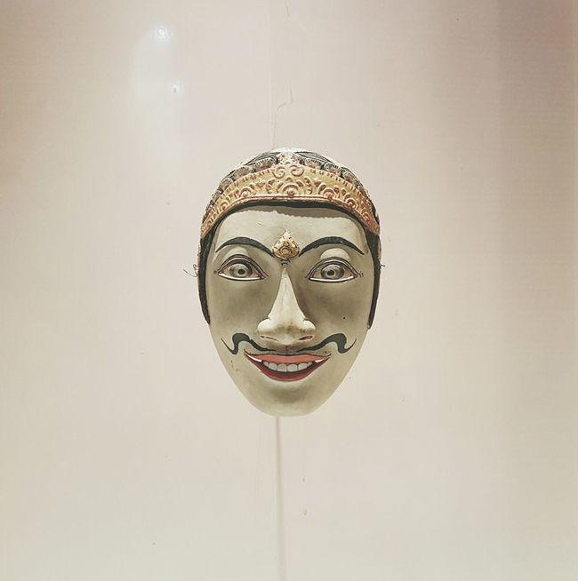 Mask Topeng Blangkon Museum National Museum Nasional Indonesia Jakarta Explore Jakarta Traditional INDONESIA