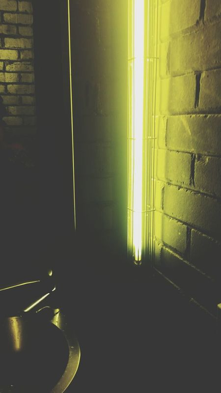 Washroom. Nightsinthecity Photography BathroomBreak Giglife Fluro Yellow