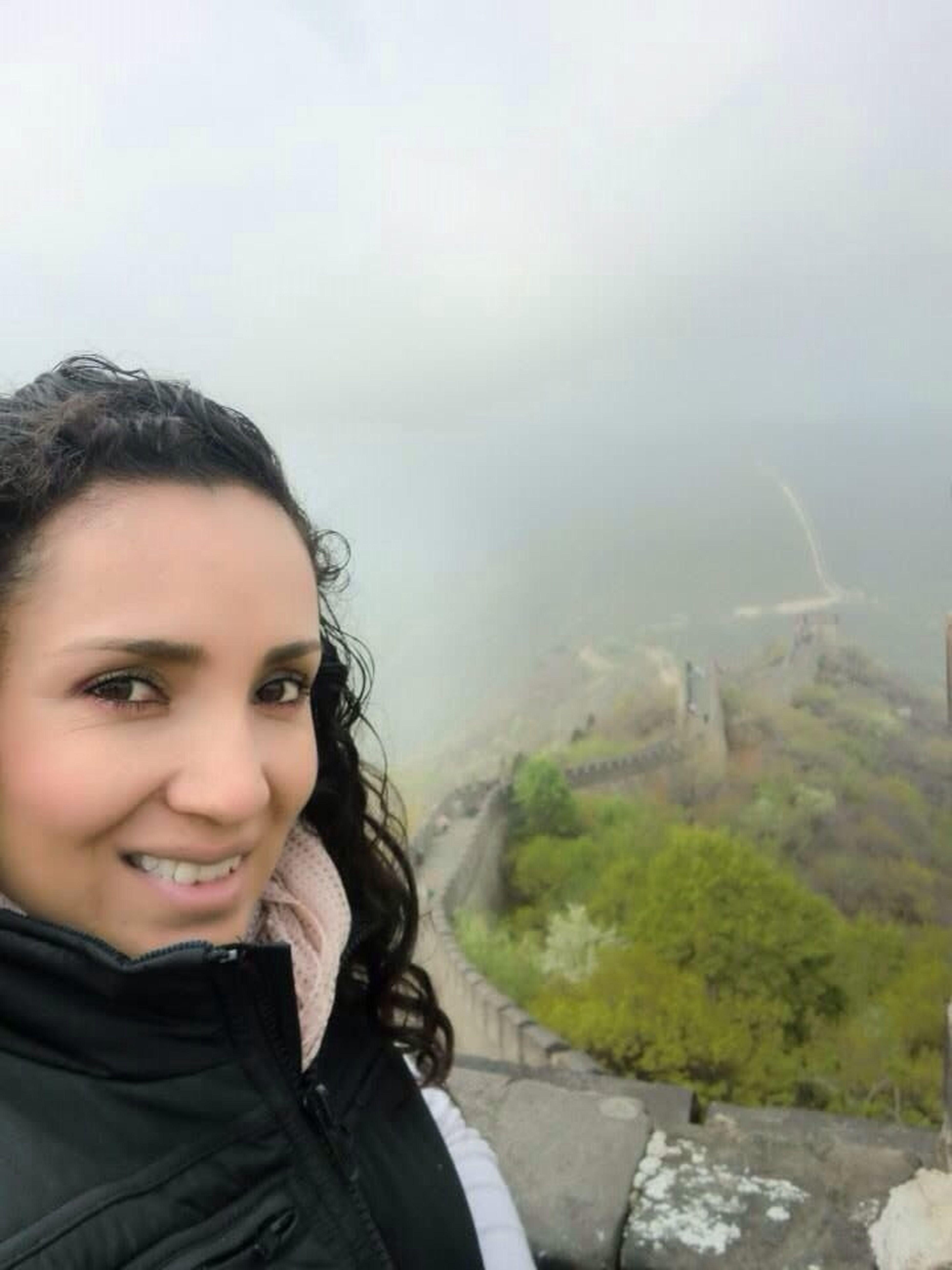 una de las 7 maravillas del mundo, la gran muralla china!