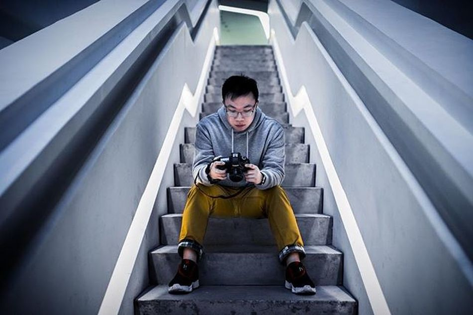 Stairways inside the Innovation Tower, PolyU Canon EOS 70d Sigma 35mm f/1.4 DG HSM 'Art' Hk Discoverhongkong Polyu Innovationtower Flowers Portrait Vscohongkong Vscoexpo Vscogood Hk2016 Shoot2kill Picoftheday Photooftheday Instameethk Urbandecay Sit 写真 香港 Stairs Urbanandstreet Staircase Exploreall portraits instacool instastyle 写真撮ってる人と繋がりたい