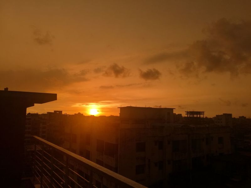 Skyonfire Chittagong Sunset Blossom_breath First Eyeem Photo