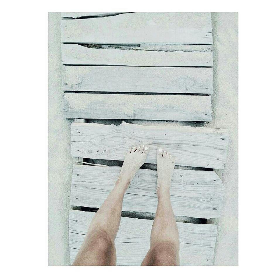 Bulgaria Enjoyingsummer Bythesea Wood Woodenplanks WhiteWood Whitenails Sexylegs Girl Whitenails