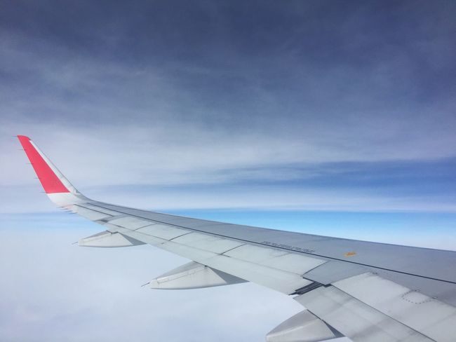 Airplane Transportation Sky Cloud - Sky Journey Mode Of Transport Airplane Wing Air Vehicle Aircraft Wing No People Travel Day Flying Outdoors Nature