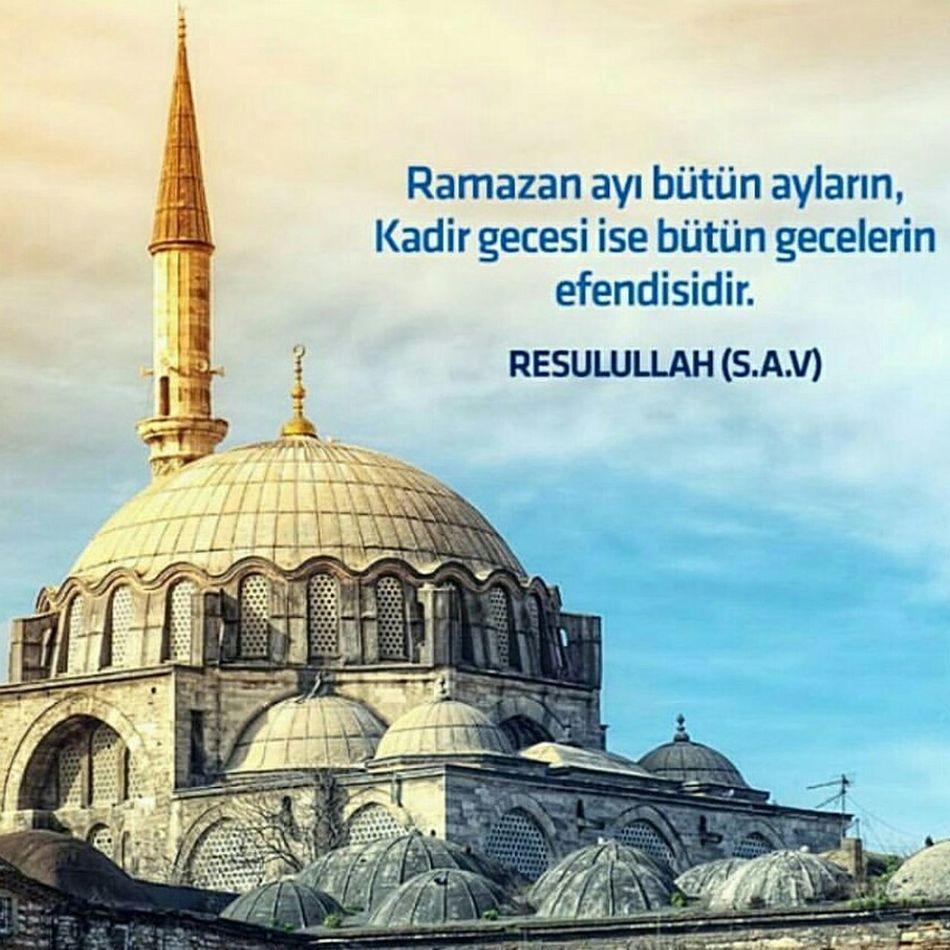 Kadir KADİRGECESİ Kandil Kandiliniz Dua Islam Allah Peygamber Istanbuldayasam Turkey