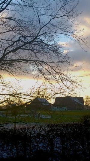 Der Himmel über Landscape Countryside