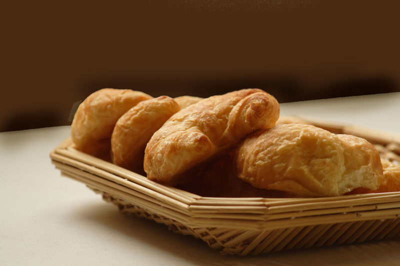 Basket Breads Close-up Croissant Food Food And Drink Freshness Indoors  No People Pastries Pastries And Goodies Ready-to-eat
