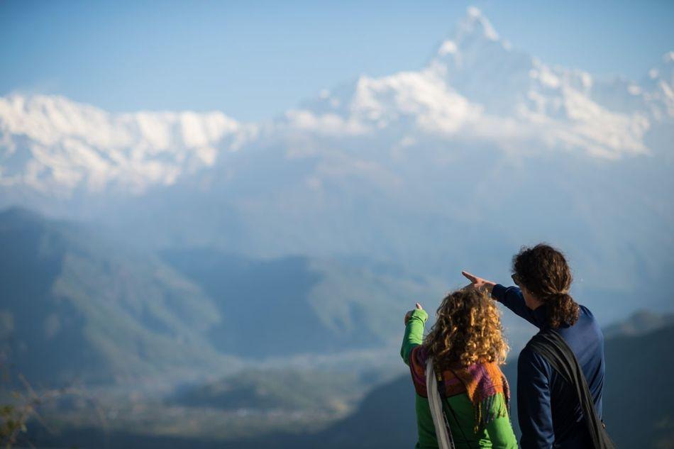 Beautiful stock photos of annapurna, Annapurna Range, Beauty In Nature, Bonding, Cold Temperature