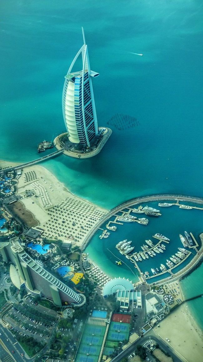 dubai Seaside Burj Al Arab Flight ✈杜拜 帆船酒店 航拍 The Great Outdoors - 2016 EyeEm Awards