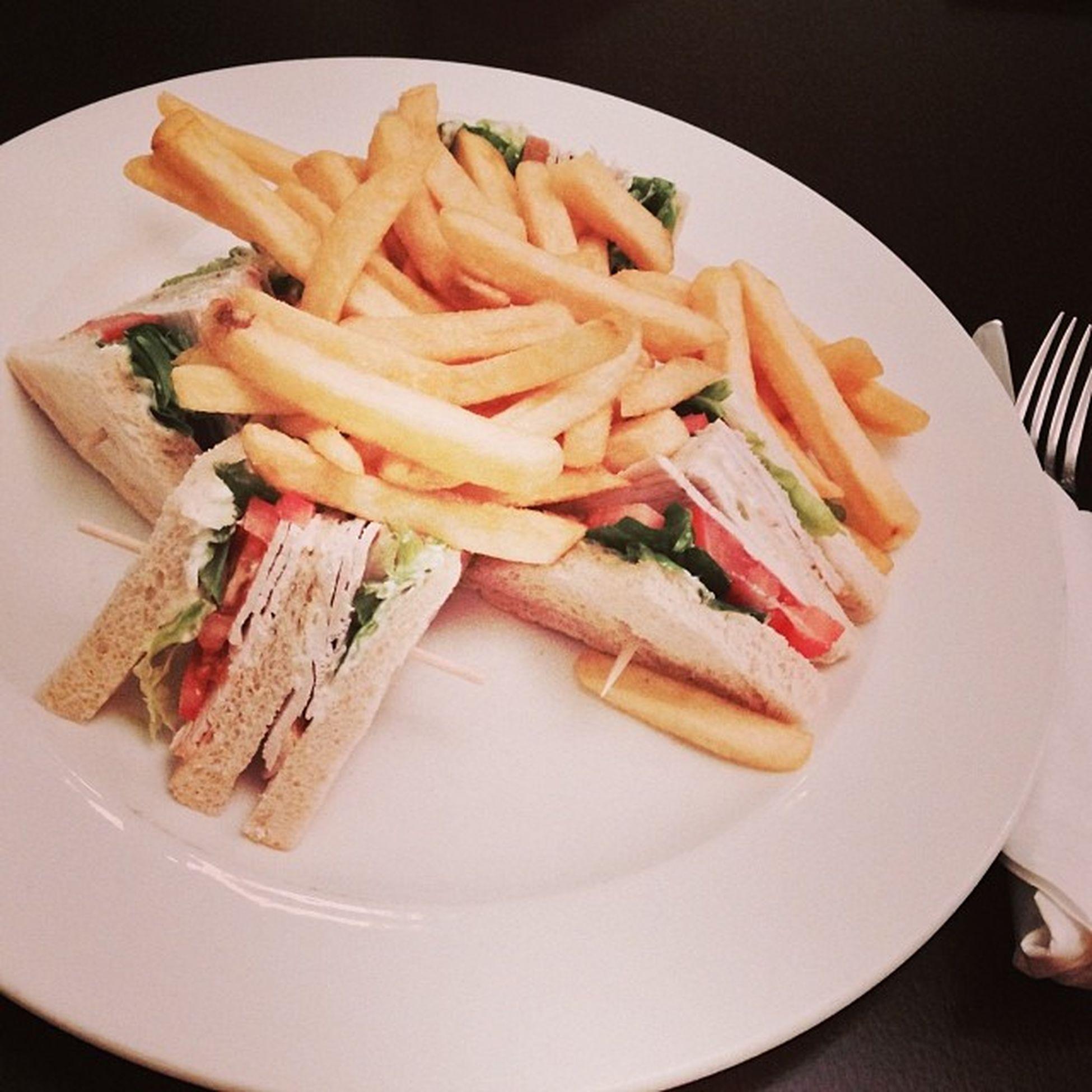 So ein Turkey Sandwich geht immer... #mahlzeit Mahlzeit