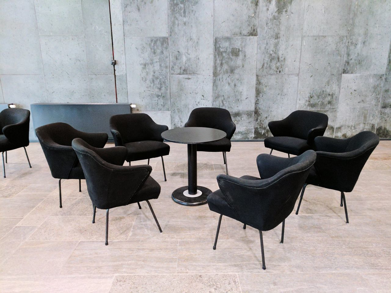 Chair Table Furniture Indoors  Black Color No People Office Chair Seat Day Communication