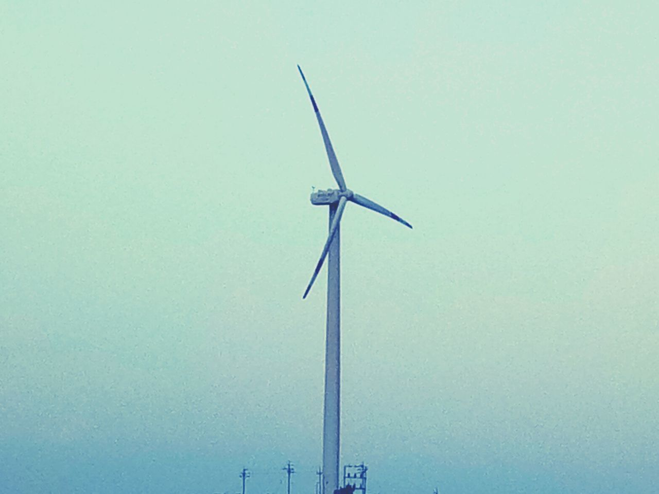 wind turbine, wind power, alternative energy, environmental conservation, renewable energy, low angle view, windmill, clear sky, industrial windmill, fuel and power generation, outdoors, day, no people, technology, nature, sky
