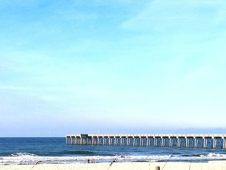 Sea Blue Water Beach Sky Nature Tranquility Outdoors Clear Sky Sand Day Horizon Over Water Beauty In Nature Tranquil Scene No People Architecture