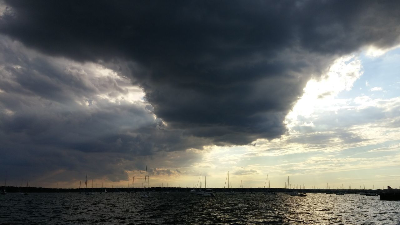 Beautiful stock photos of hurricanes, Beauty In Nature, Cloud - Sky, Dramatic Sky, Harbor