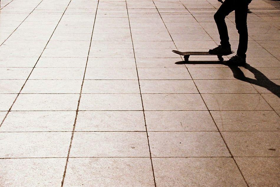 Balance Mysthical Silhouette Human Lines Sunset Sun Action Sports Skateboard Sport Skateboarding Skater Skate