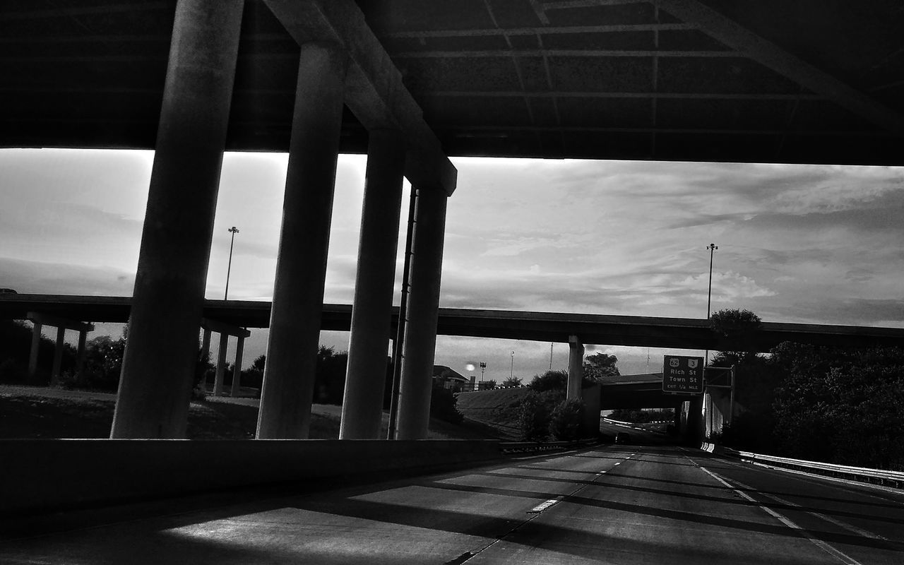 Blackandwhite Photography Cityscape Eye4photography  Overpass Freeway EyeEm Best Shots Structures And Architecture Dramatic Angles. Angles.Eyeem4photography