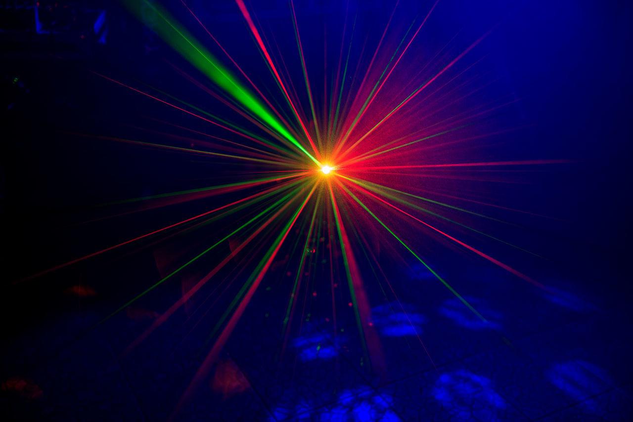 night, illuminated, nightclub, multi colored, laser, no people, nightlife, indoors, space