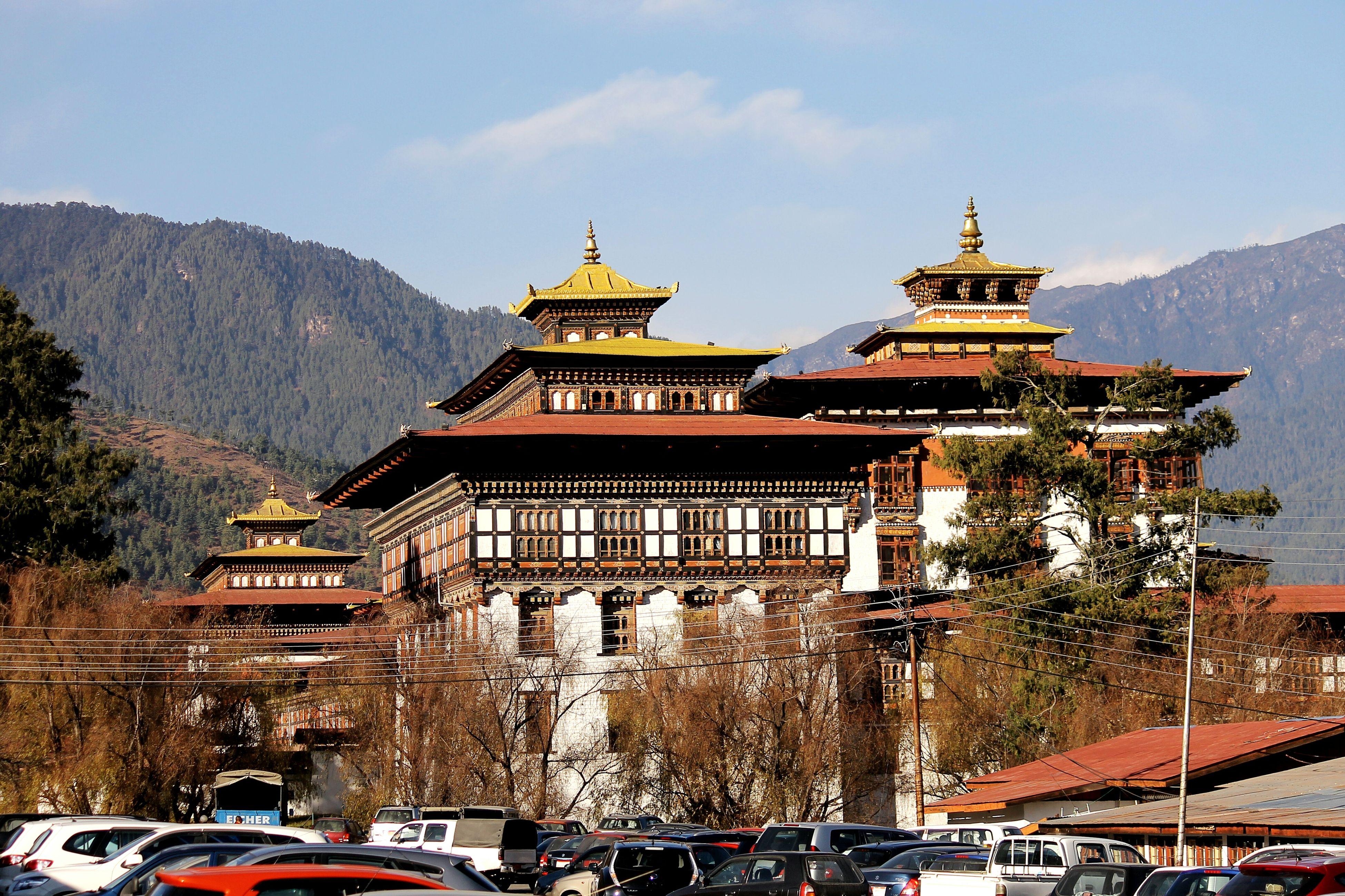 Bhutan Taa Dzong King Administrative Courthouse KingJigme Asian Culture