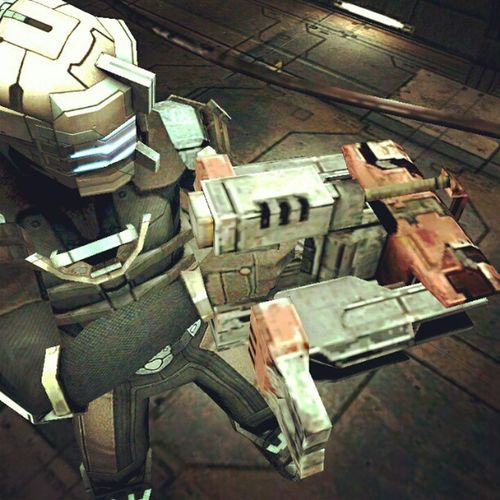 Just got myself a LineGun bitches. Deadspace  Android HTCOneX InstaGames Gamer InstaGaming