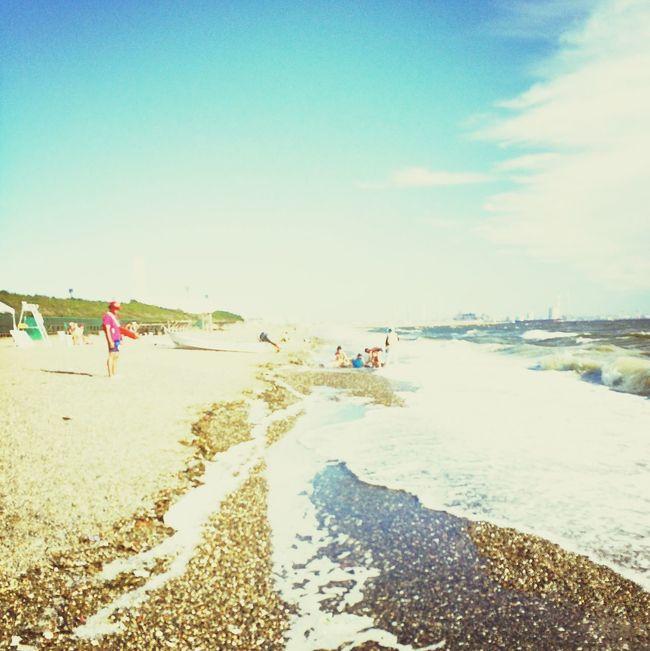 Taking Photos Sea Sunshine