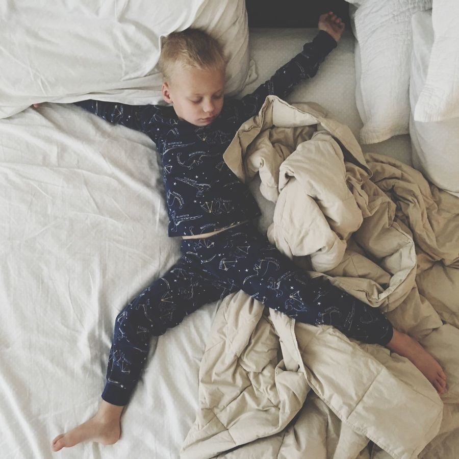 Sleep Sleeping Kid Boy Pajamas Bed Bedtime Stretched Out Scotts Valley California United States Found On The Roll Night Night, Sleep Tight