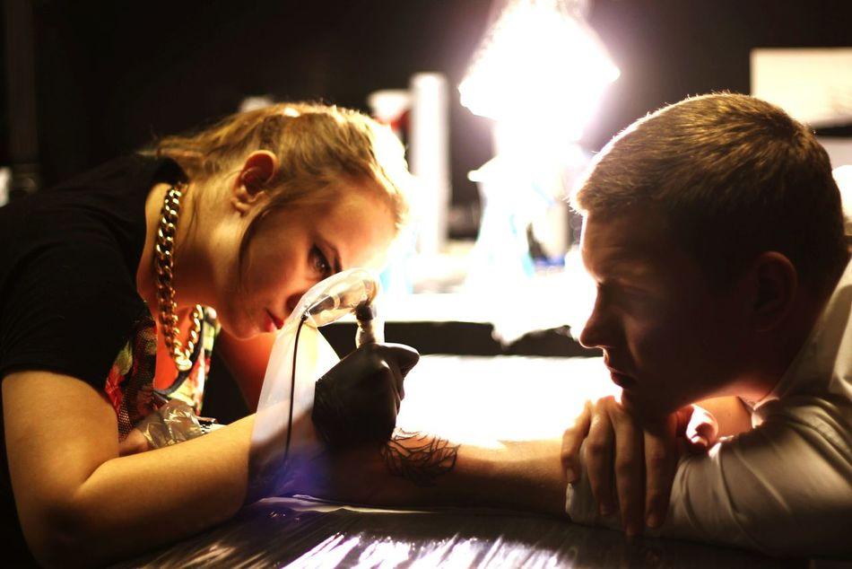 Tattoo Tattoo ❤ Tattoolife Tattooman Tatto ✌ Two People