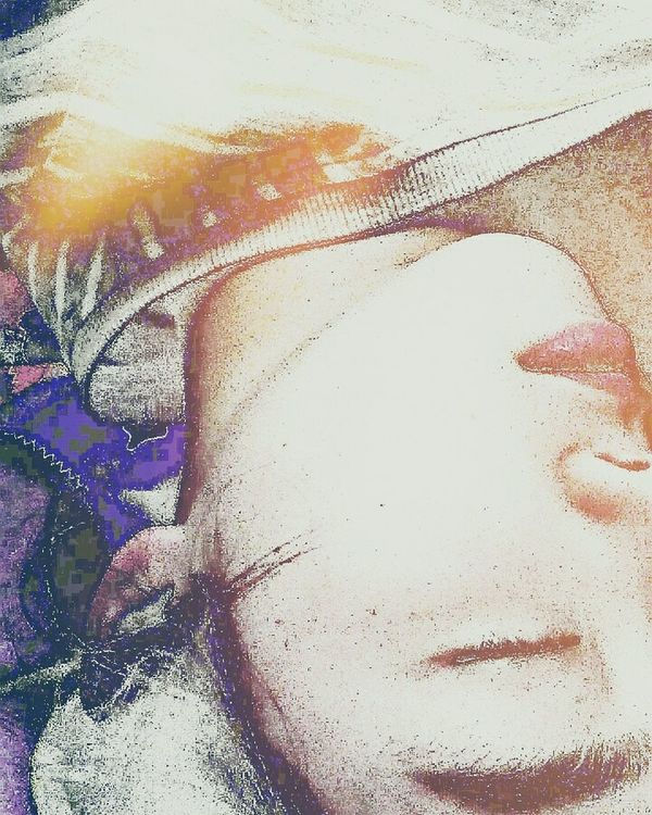 Paint Paper Multi Colored Abstract MYSELFIE Sleeping Girl Goodnight EyeEm ♥