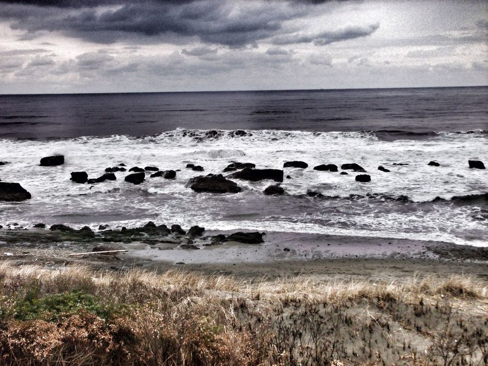At Pacific Ocean