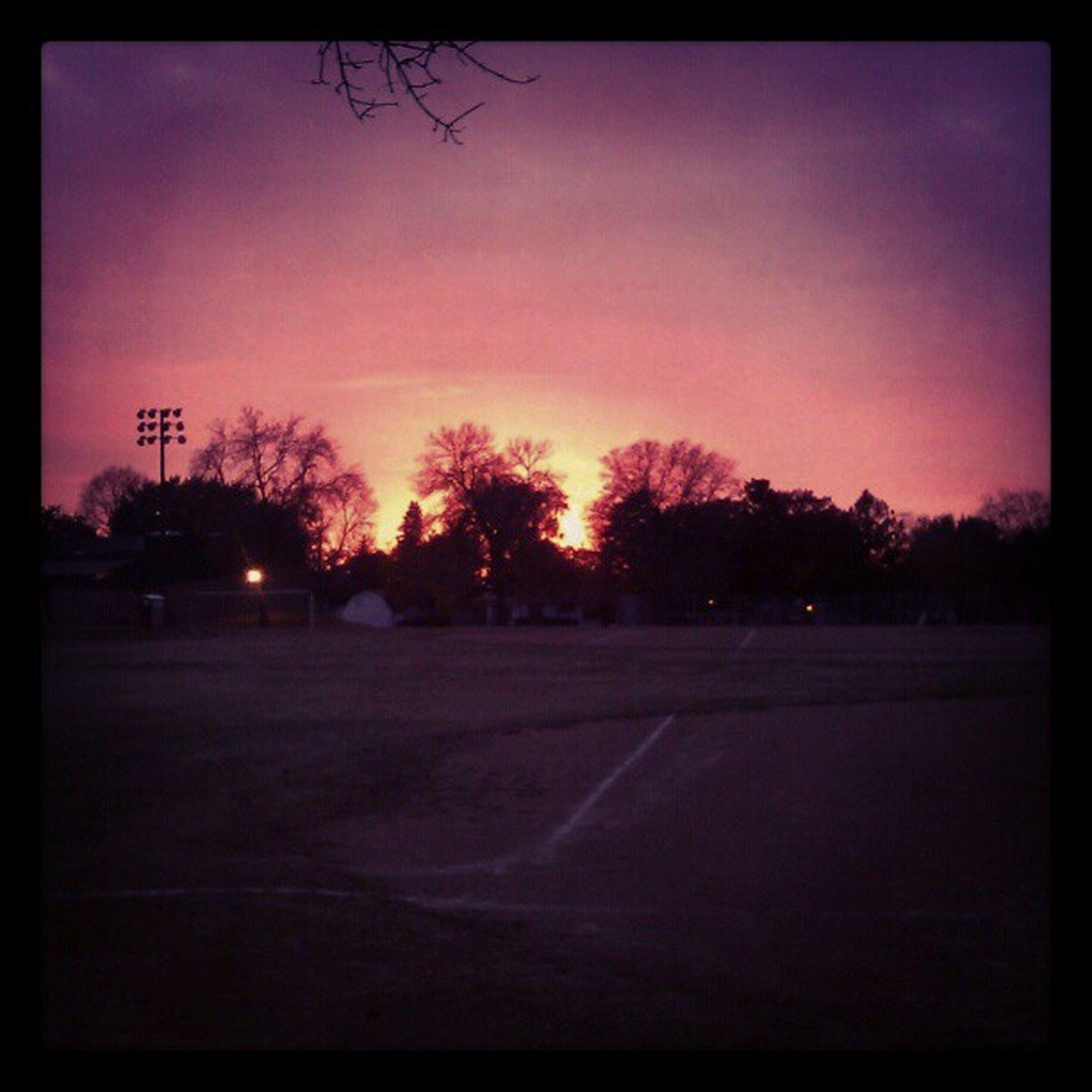 Sunset at EastviewPark