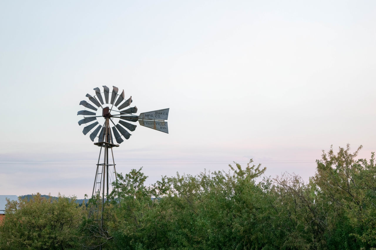 renewable energy, wind power, alternative energy, wind turbine, windmill, environmental conservation, fuel and power generation, traditional windmill, industrial windmill, day, nature, outdoors, rural scene, sky, no people, tree, technology, beauty in nature