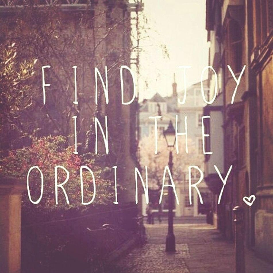 find joy ?