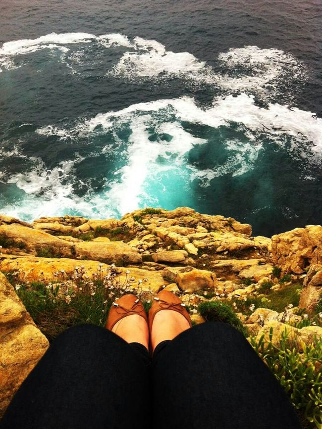 Waves And Rocks Sea Perfect Moment ✨💚
