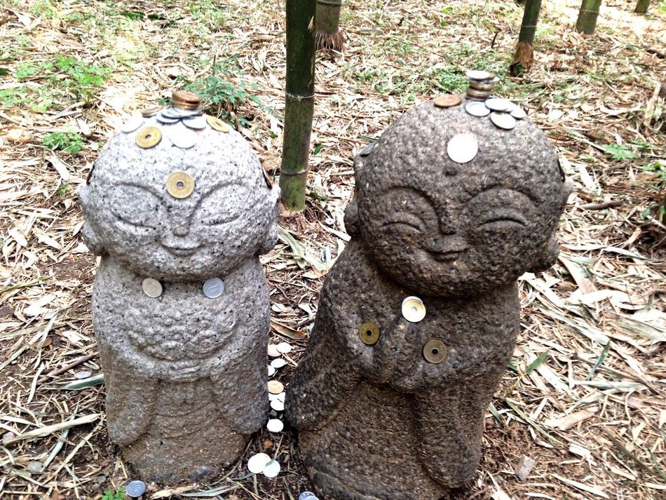 お地蔵さん 地蔵 竹林 Kyoto 京都