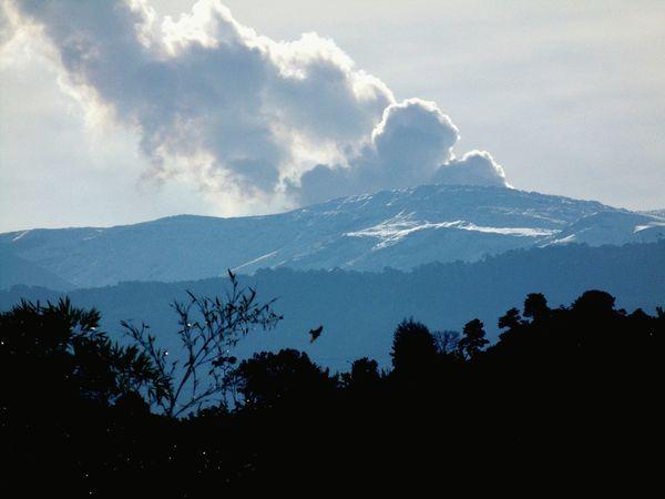 Nevado Del Ruiz Fumarola Panasonic Dmc Lz40 Jilroa Paisaje Colombiano