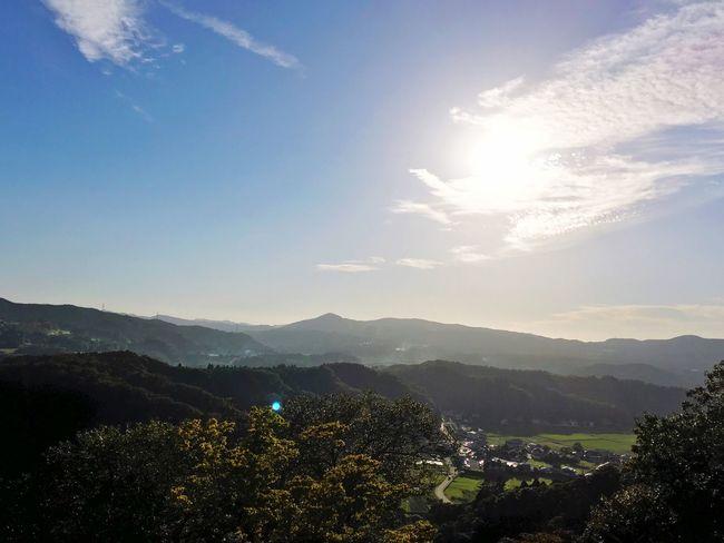 Japan Country Side Fields