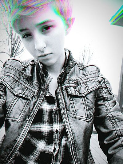 Young Adult One Person Spiky HairTransgender Ftm Transguy Transisbeautiful Transgenderpride Thisiswhattranslookslike That's Me Casual Clothing