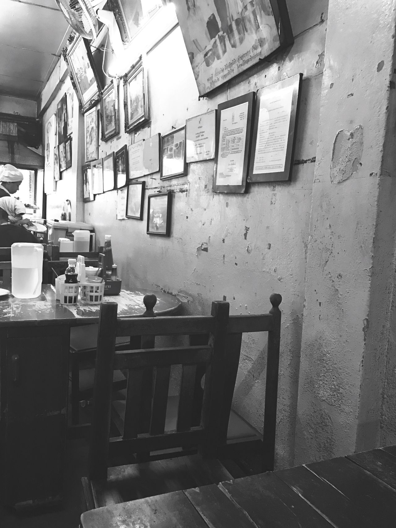 Thailand Thai Food Thai Style Day Indoors  Table Thaifoods Restaurant Thailand_allshots_blackwhite | #blackandwhite | #bw | #bnw | #photooftheday. Retro The Secret Spaces Art Is Everywhere