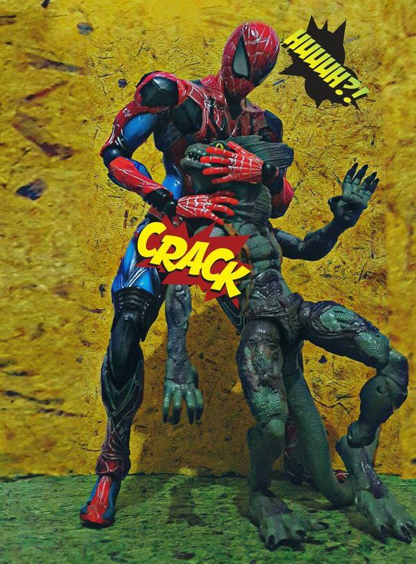 Action Figures Toys Toy Photography Actionfigures Spiderman Playartskaifigures Toygallery Lizard