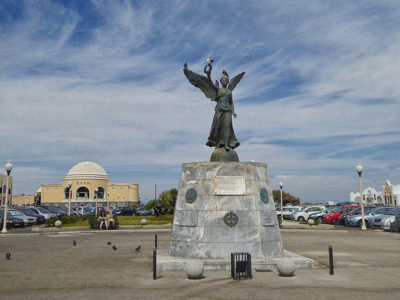 Rhodos Rhodos, Greece  Rhodes Ródos Rodos Greece Greece GREECE ♥♥ Statue Statues