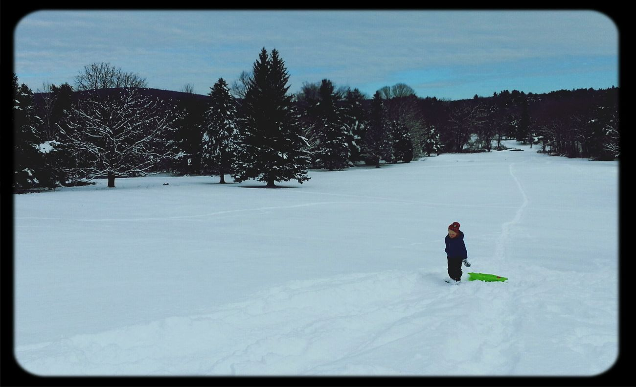 Sledding Snow ❄ Itslongwaytodetopifuwannarocknroll