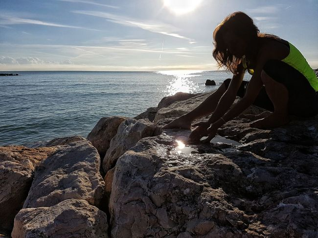 Sea Water Beach Nature Enjoying The Sun Life Is A Beach Love <3 EyeEm Nature Lover