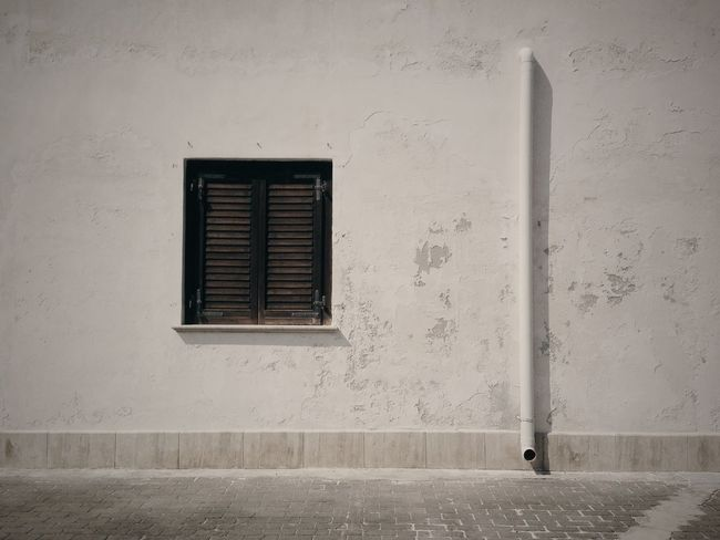 What is a wall. Marettimo Wall Window White