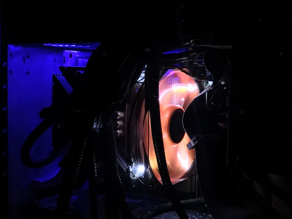 cpu fan illuminated Cable Case Computer Computer Case Computer Chassis CPU Cpu Fan Dark Darkness Desktop Case Fan Glow Heat - Temperature Illuminated PC Personal Computer Technology