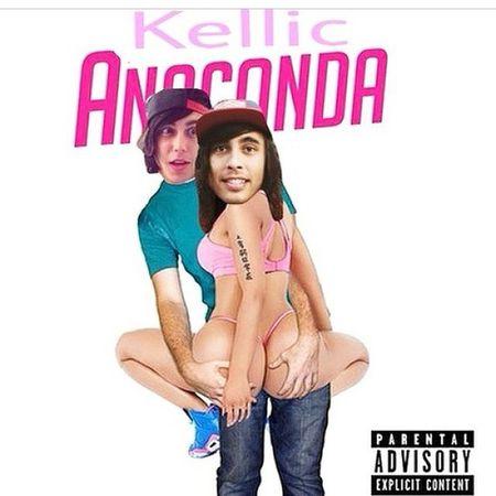 Here. Let me give u the best thing ever. Hehe hehe Piercetheveil Anaconda Kellin  Vic twerk