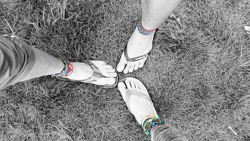 Splashphotography Standing Friendship Footwear Anklet Fashion