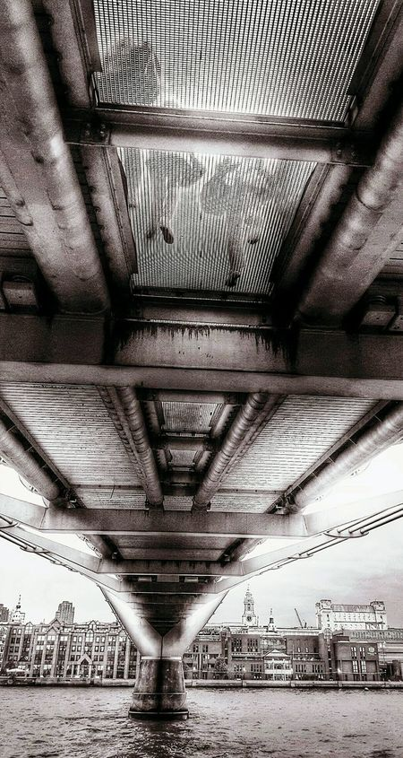 Check This Out Hanging Out EyeEm Gallery Followme Bridge View Bridge Perspectives London Wobbly Bridge Walking Under A Bridge Millenium Bridge Love This Place Gotta Love This City Day Out From My Point Of View London Lifestyle