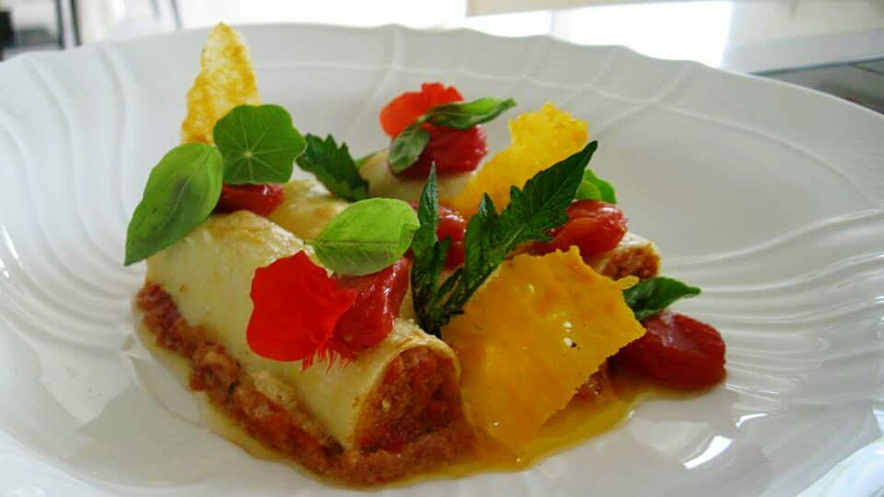 Handmade For You Freshness Food And Drink Food Ready-to-eat Indoors  Close-up Plate Healthy Eating Day Italian Food Cooking Food And Drink Freshness Cannelloni Visual Feast